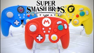 HANDS ON! Super Smash Bros. ULTIMATE GAMECUBE Controllers