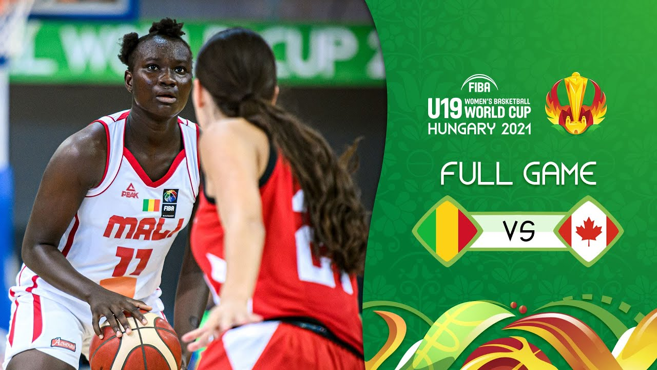 Mali v Canada   Full Game - FIBA U19 Women's Basketball World Cup 2021
