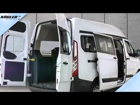 ford transit custom kombi 330 l2h2 trend klima vo hi youtube. Black Bedroom Furniture Sets. Home Design Ideas