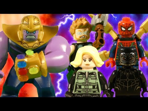 LEGO AVENGERS INFINITY WAR PART 1 - 16 - MARVEL STOP MOTION