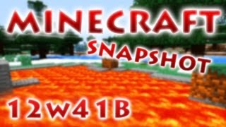 Minecraft Snapshot 12w41a & 12w41b - RedCrafting Review