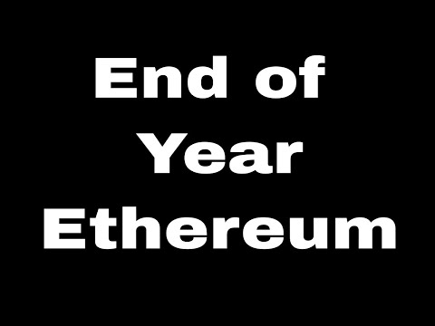 Investing In Ethereum 2018 - End of Year