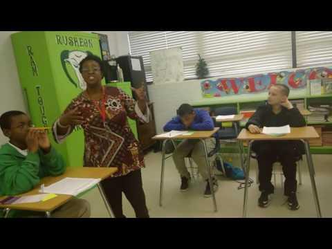 Simone Keys, 2018 Louisiana State Teacher of the Year, Sixth Grade English Teacher, Bossier Parish