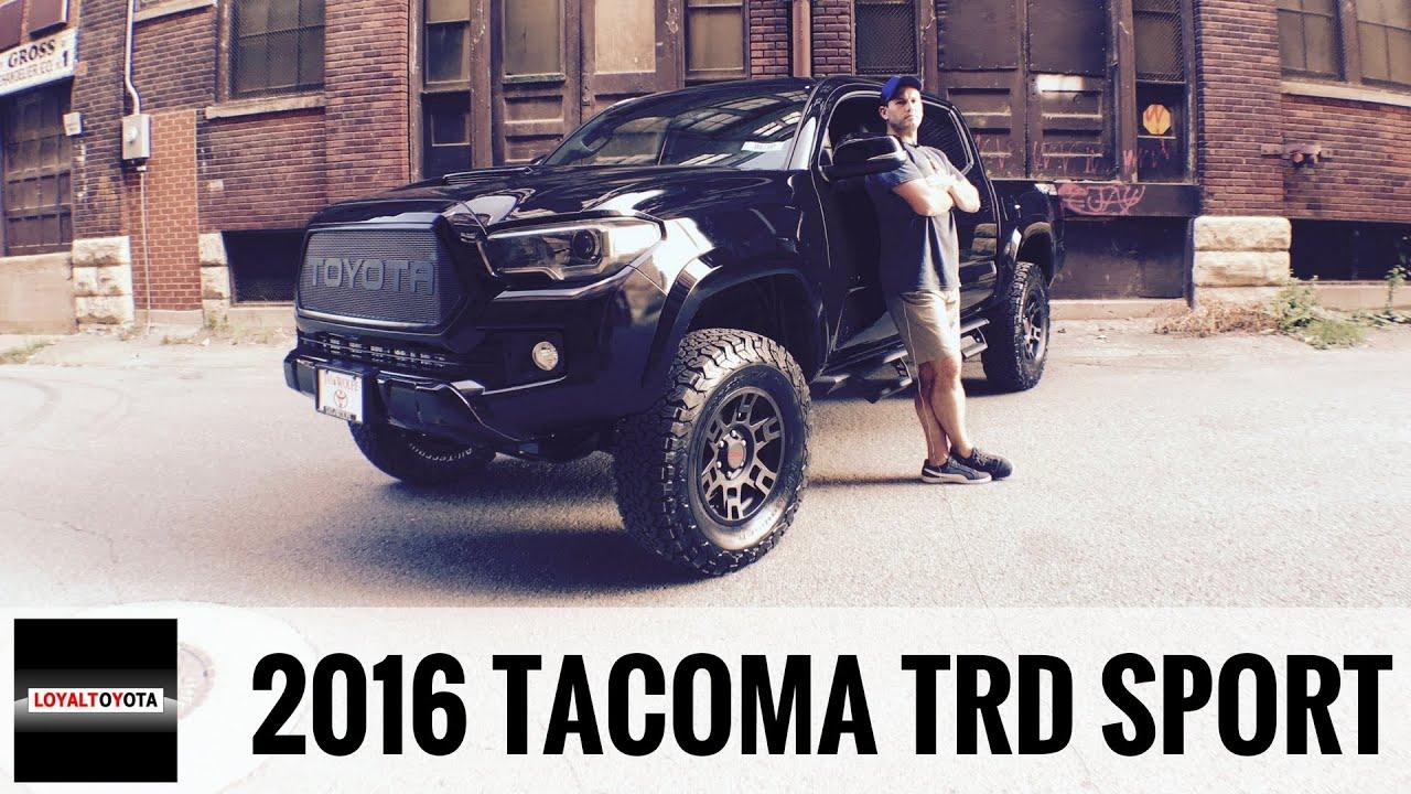 2016 Toyota Tacoma Trd Sport >> Toyota Tacoma TRD Sport 4x4 Custom - LOYALTOYOTA - YouTube