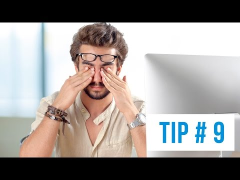 Tip #9: What should be done in an eye emergency? / Particles in the Eye
