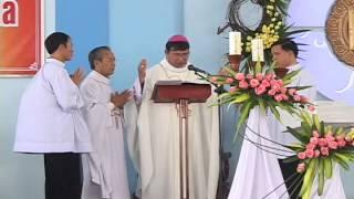 Thánh lễ Cung hiến Bàn thờ và Nhà thờ Giáo xứ Vinh Trung