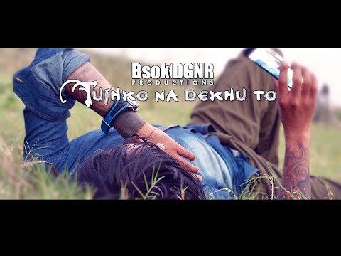 Tujhko Na Dekhun To Dil Ghabrata - Jaanwar Songs HD - Akshay Kumar - Udit Narayan - by Bishok Dgnr