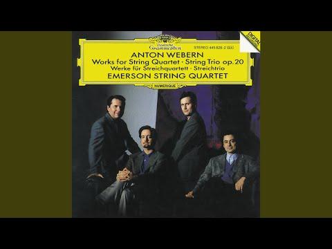 Webern: Slow Movement For String Quartet (1905)