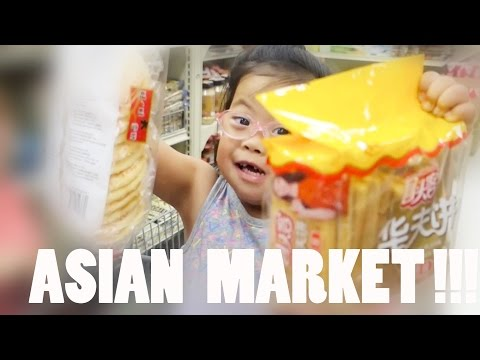 ANOTHER TRIP TO THE ASIAN MARKET!!!