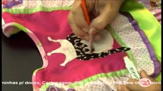 Alciana Rossi ensina customizar um vestido de quadrilha