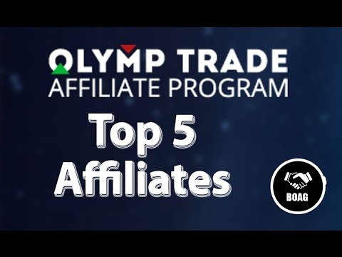 Olymp Trade Affiliate: Top 5 Affiliates Earnings - Simply Awesome!