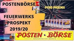Posten Börse Feuerwerksprospekt 2019/20! Super Sortiment! |Pyro Phoenix|