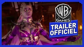 Mortal Kombat 11 - Sindel - Kombat Pack - Trailer de Gameplay