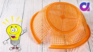 DIY Waste Basket Craft Idea | Best out of waste | Artkala