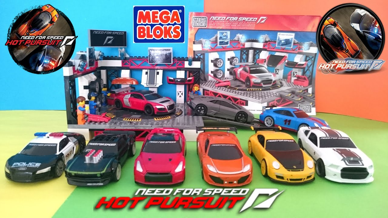 Toys for boys Car toys Car Garage MEGA BLOKS need for speed
