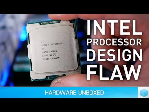 Intel Server CPUs Could Become Up to 30% Slower
