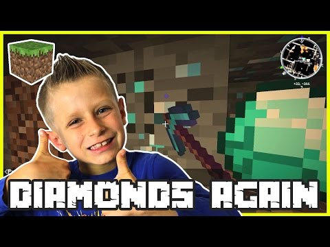 Mining Diamonds Again / Minecraft