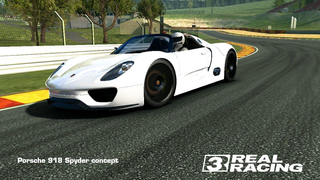 real racing 3 porsche 918 spyder topspeed 337 km h. Black Bedroom Furniture Sets. Home Design Ideas