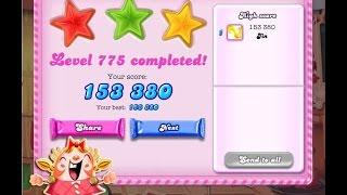 Candy Crush Saga Level 775   ★★★   NO BOOSTER