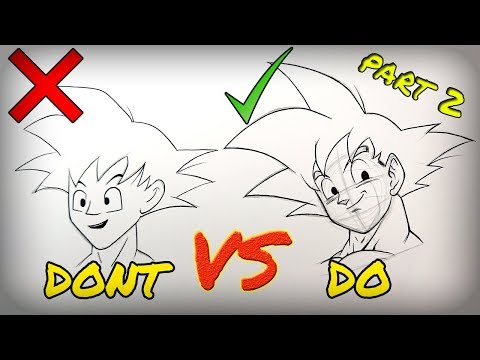 Don't VS Do Compilation | DragonBall Edition - PART 2 | How To Draw