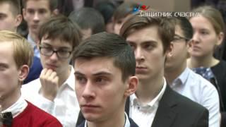 Защитник счастья ТВ – урок экологии с Петром Толстым в школе №1363 (Выхино-Жулебино)