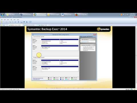 Simplified Disaster Recovery using Symantec Backup Exec 2014