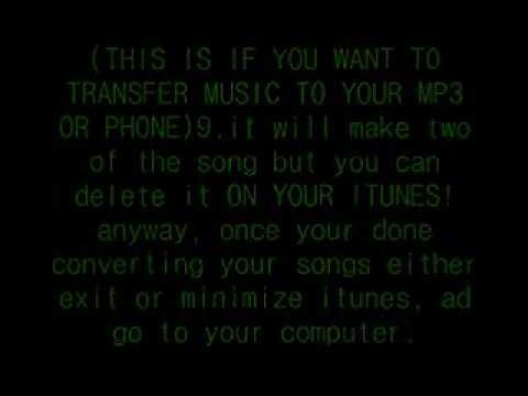 How to convert any music formats into MP3 EASILY!!