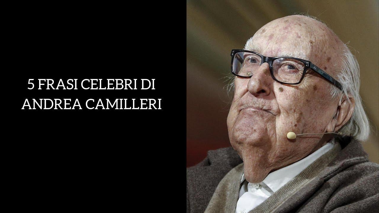 Andrea Camilleri Frasi Celebri Dell Autore Siciliano Youtube