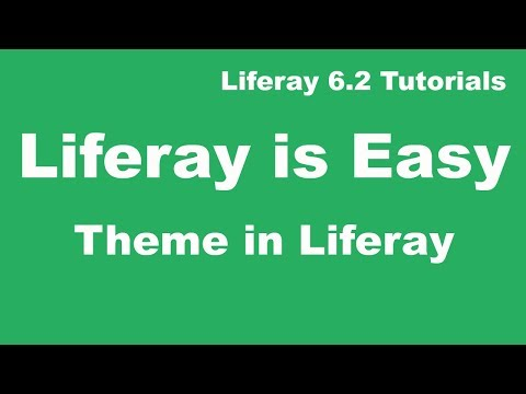 Liferay tutorial 01: basic web content in liferay 6. 2 youtube.