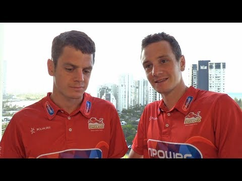 Interview With Jonny And Alistair Brownlee - Commonwealth Games