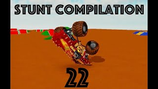 Roblox Monster Jam Stunt Compilation 22! (Insane Saves Only)