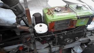 Трехточечная навеска на минитрактор с мотоблока  своими руками 2 часть.