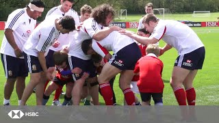 HSBC Cubs put The British & Irish Lions through their paces