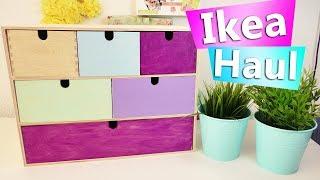 Ikea DIY Idee & Haul | Neue Studio Deko & Regal DIY | Ikea Aufbewahrung selber gestalten