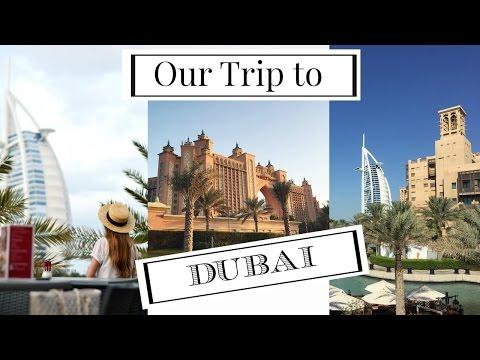 Dubai Trip:  Atlantis the Palm, Burj Al Arab, Miracle Gardens
