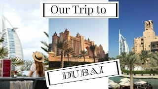 Dubai Trip:  Atlantis the Palm, Burj Al Arab, Miracle Gardens