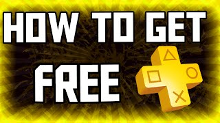 How to get FREE Playstation Plus 2015 - (FREE PS PLUS GLITCH) - Get free Ps Plus!