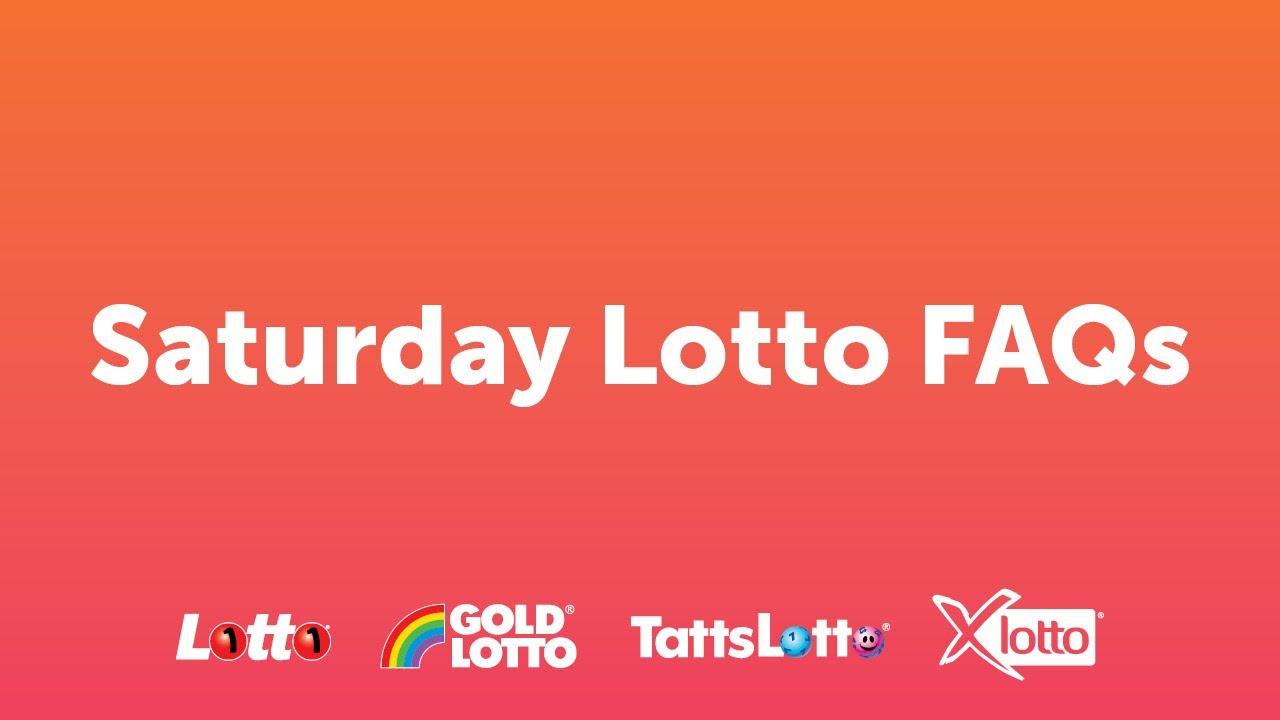 Saturday Lotto Resultts