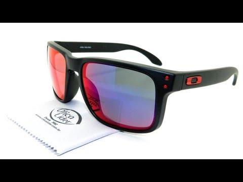 c7d495b55f Oakley Holbrook Red Iridium OO9102l/36 55 Espelhado - YouTube