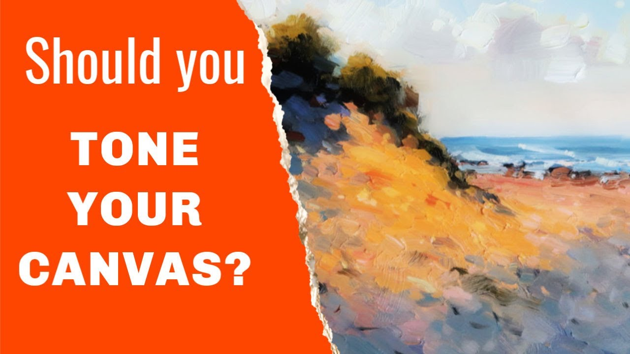 How to Tone Your Painting Canvas (Colors and Effects) 🎨