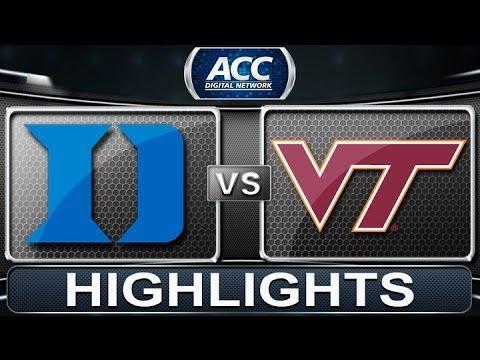 2013 Acc Football Highlights Duke Vs Virginia Tech Accdigitalnetwork Youtube