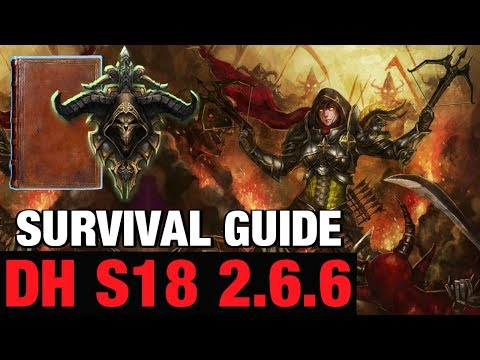 Marauder Demon Hunter Starter Survival Guide Diablo 3 Patch Build 2.6.6 Season 18