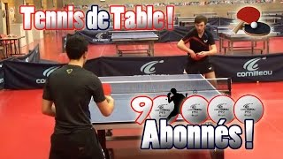 # 90 000 Abonnés # DavidLafargePokemon au Tennis de Table ! Best of Meilleurs Points !