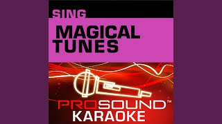 Part Of Your World Karaoke Instrumental Track In the