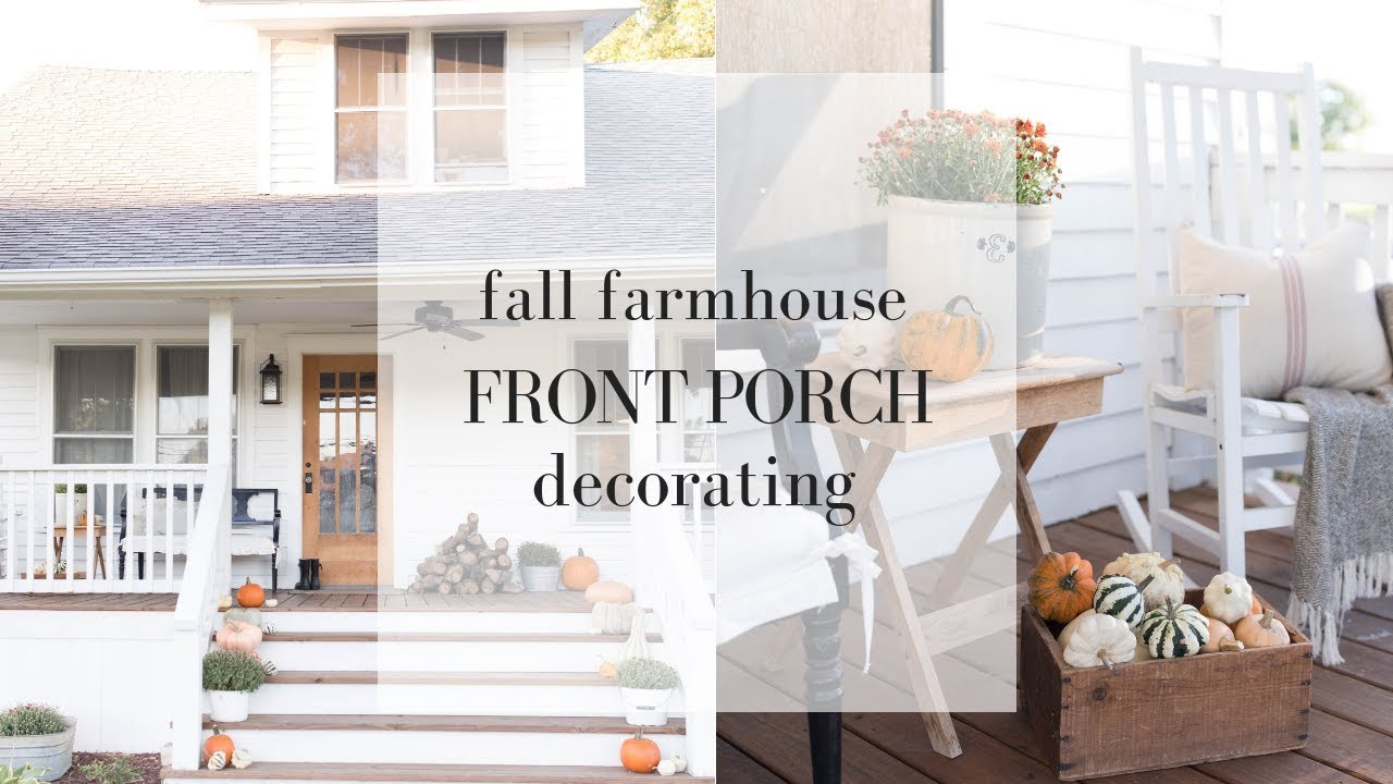 Farmhouse Style Porch Best Home Style Inspiration