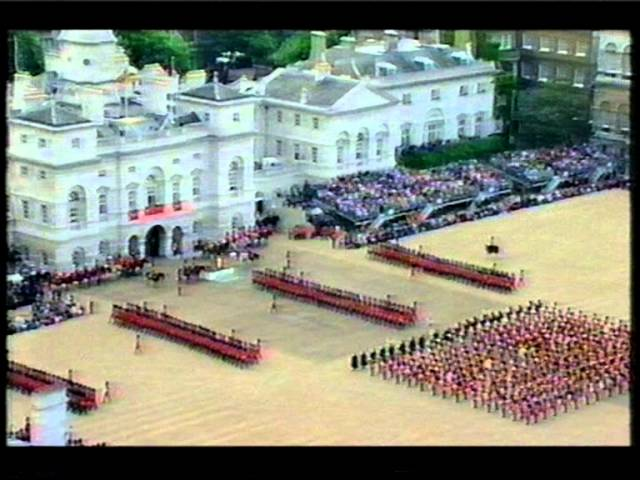 Trooping The Colour 1997 - Road to the Isles.