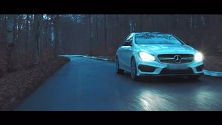 The beauty and the beast • Car Porn • Mercedes CLA 45 AMG