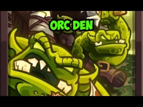 Kingdom Rush Vengeance - Orc Warriors Den REVIEW