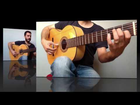 Arpej 1 - Flamenco Gitar Dersi