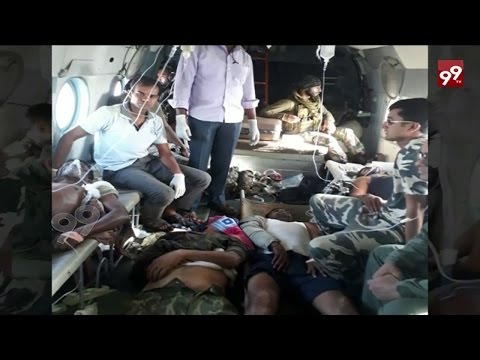 35 CRPF Jawans Killed In Maoist Attack In Chhattisgarh || 99TV ||
